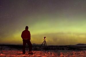 Aurora Borealis landscape with P-M TWAN